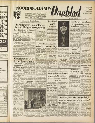 Noordhollands Dagblad : dagblad voor Alkmaar en omgeving 1953-07-02