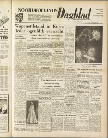 Noordhollands Dagblad : dagblad voor Alkmaar en omgeving 1953-06-05