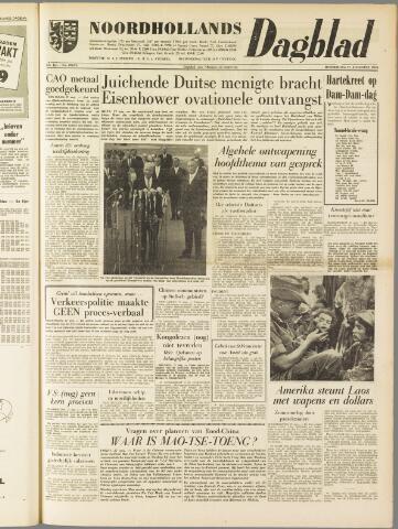 Noordhollands Dagblad : dagblad voor Alkmaar en omgeving 1959-08-27