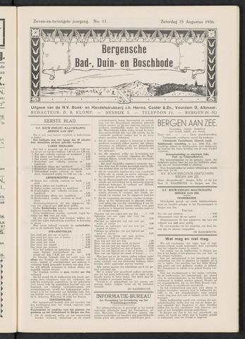 Bergensche bad-, duin- en boschbode 1936-08-15