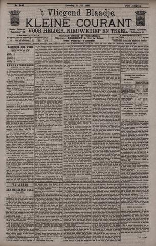 Vliegend blaadje : nieuws- en advertentiebode voor Den Helder 1896-07-11