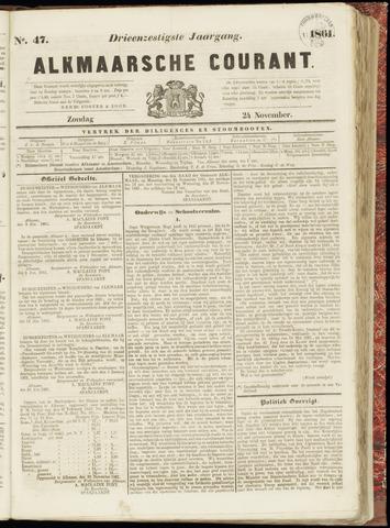 Alkmaarsche Courant 1861-11-24