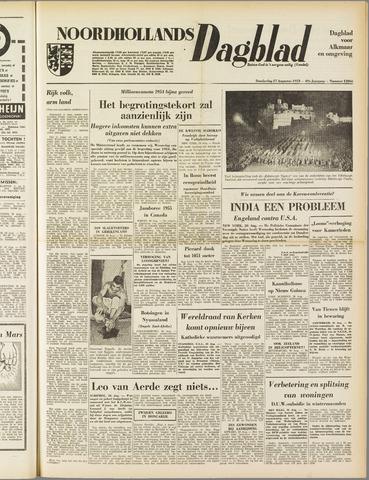 Noordhollands Dagblad : dagblad voor Alkmaar en omgeving 1953-08-27