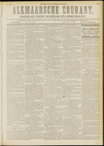 Alkmaarsche Courant 1919-11-04