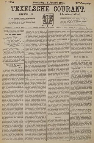 Texelsche Courant 1910-01-13