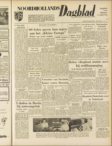 Noordhollands Dagblad : dagblad voor Alkmaar en omgeving 1953-01-19