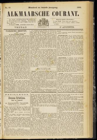 Alkmaarsche Courant 1900-08-17