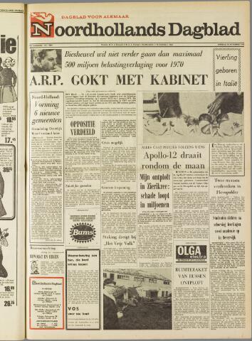 Noordhollands Dagblad : dagblad voor Alkmaar en omgeving 1969-11-18