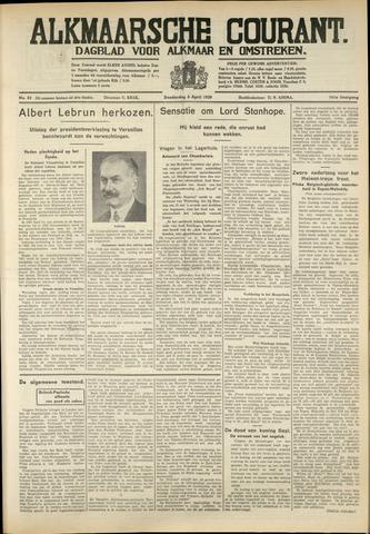 Alkmaarsche Courant 1939-04-06
