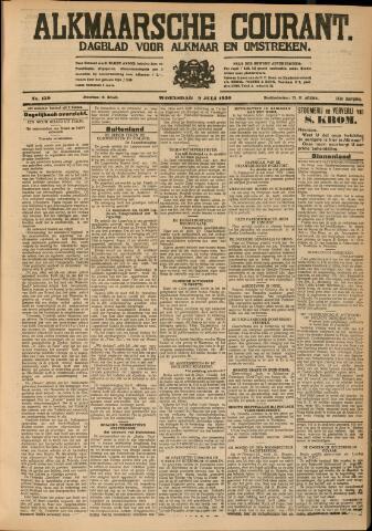 Alkmaarsche Courant 1930-07-09