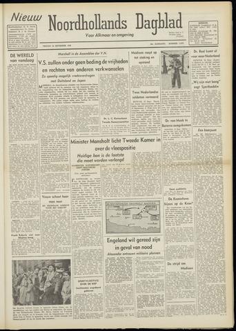 Nieuw Noordhollandsch Dagblad : voor Alkmaar en omgeving 1948-09-24