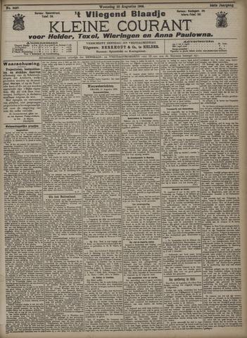Vliegend blaadje : nieuws- en advertentiebode voor Den Helder 1906-08-22