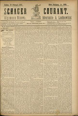 Schager Courant 1895-02-24