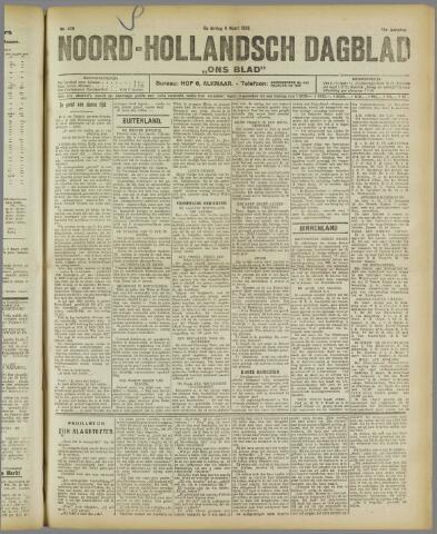 Ons Blad : katholiek nieuwsblad voor N-H 1922-03-09