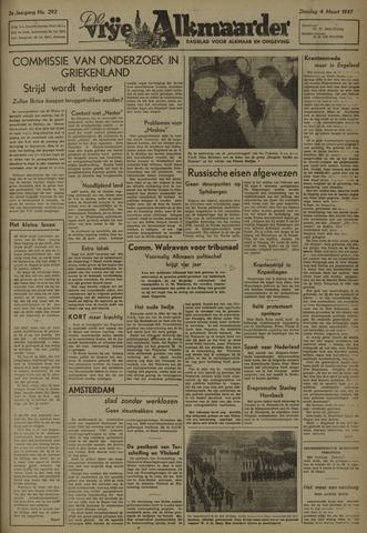 De Vrije Alkmaarder 1947-03-04