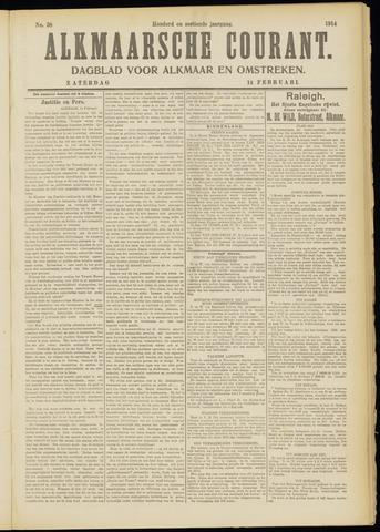 Alkmaarsche Courant 1914-02-14