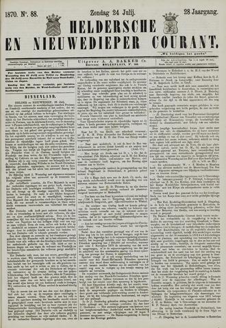 Heldersche en Nieuwedieper Courant 1870-07-24