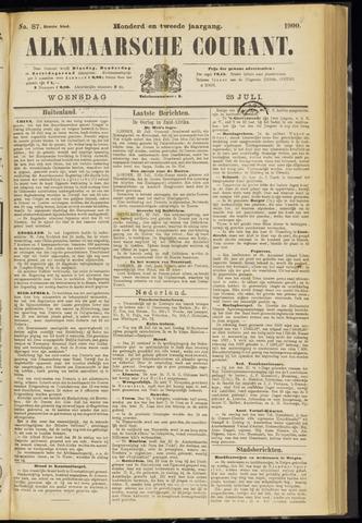 Alkmaarsche Courant 1900-07-25