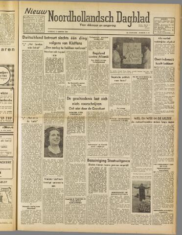 Nieuw Noordhollandsch Dagblad : voor Alkmaar en omgeving 1947-01-11