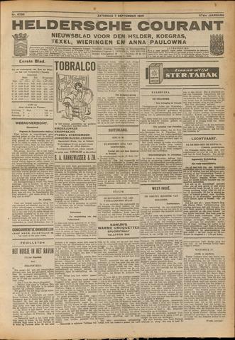 Heldersche Courant 1929-09-07