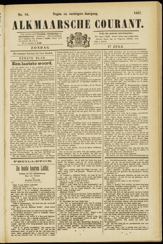 Alkmaarsche Courant 1887-07-17