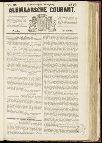 Alkmaarsche Courant 1859-03-20