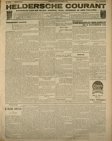 Heldersche Courant 1931-11-26