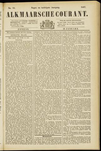 Alkmaarsche Courant 1887-01-23