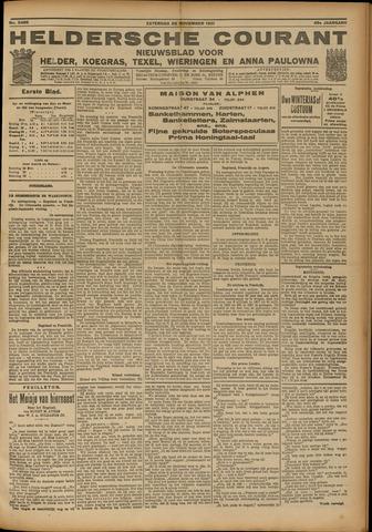 Heldersche Courant 1921-11-26