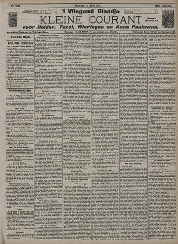 Vliegend blaadje : nieuws- en advertentiebode voor Den Helder 1910-04-16