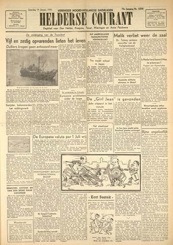 Heldersche Courant 1950-01-14