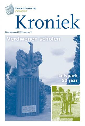 Kroniek Historisch Genootschap Wieringermeer 2016-08-01