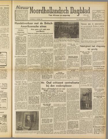 Nieuw Noordhollandsch Dagblad : voor Alkmaar en omgeving 1947-01-30