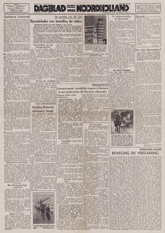 Dagblad Noord-Holland, Schager editie 1944-08-05
