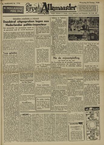 De Vrije Alkmaarder 1949-10-26