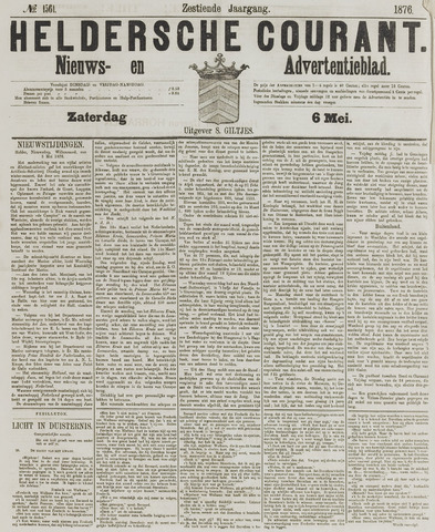 Heldersche Courant 1876-05-06