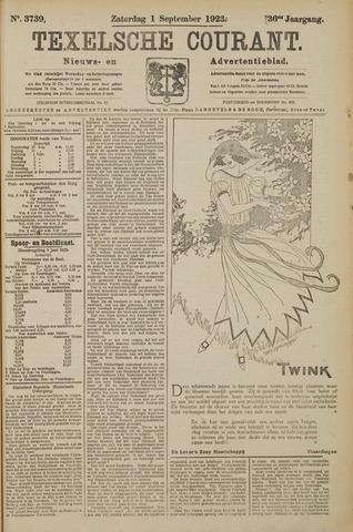 Texelsche Courant 1923-09-01