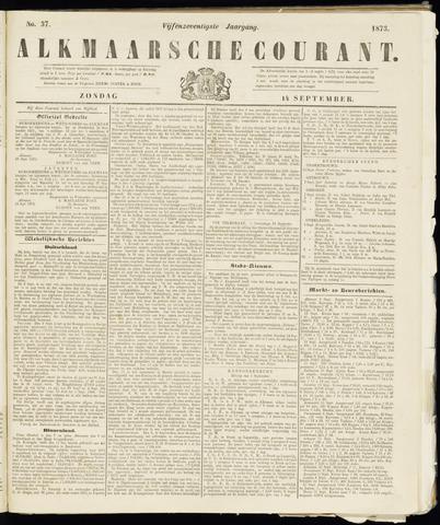 Alkmaarsche Courant 1873-09-14