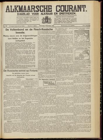 Alkmaarsche Courant 1939-12-06