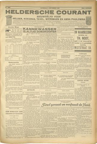 Heldersche Courant 1927-09-17