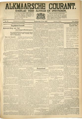Alkmaarsche Courant 1933-06-08