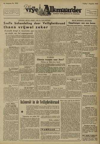 De Vrije Alkmaarder 1947-08-01