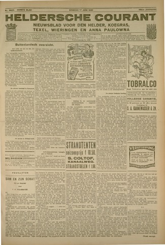 Heldersche Courant 1930-06-17