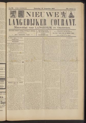 Nieuwe Langedijker Courant 1923-08-25