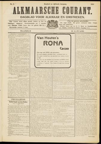 Alkmaarsche Courant 1913-01-13