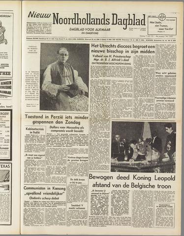 Nieuw Noordhollandsch Dagblad : voor Alkmaar en omgeving 1951-07-17