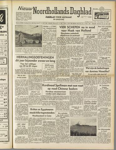 Nieuw Noordhollandsch Dagblad : voor Alkmaar en omgeving 1952-01-19