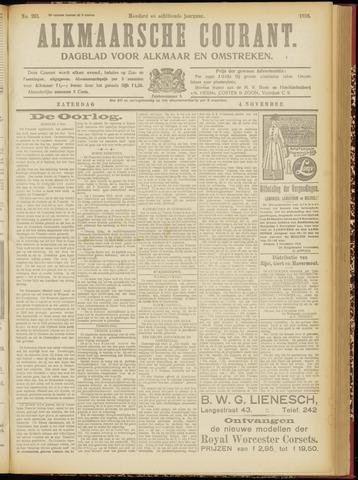 Alkmaarsche Courant 1916-11-04