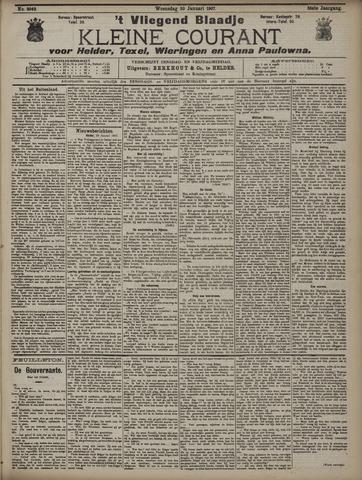 Vliegend blaadje : nieuws- en advertentiebode voor Den Helder 1907-01-30