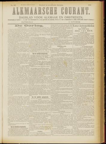 Alkmaarsche Courant 1915-10-09